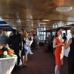 Wedding guests on Edelweiss II