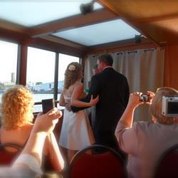 Bride and Groom interior of Edelweiss I